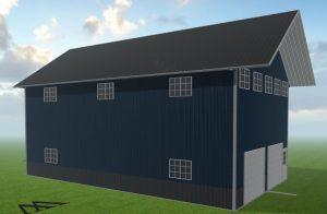 Barndominium kits and metal garage kits can be custom designed at Worldwide Steel Buildings.
